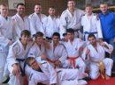 Die Hollage Judoka haben in diesem Jahr beinahe Platz drei in der Bezirksliga erreicht. Foto: Blau-Weiss Hollage