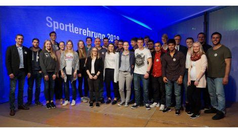 Die Hollager Judoka bei der Wallenhorster Sportlerehrung 2018. Foto: Blau-Weiss Hollage
