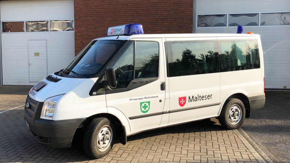 Das neue Einsatzfahrzeug der Wallenhorster Malteser. Foto: Jens In der Wische