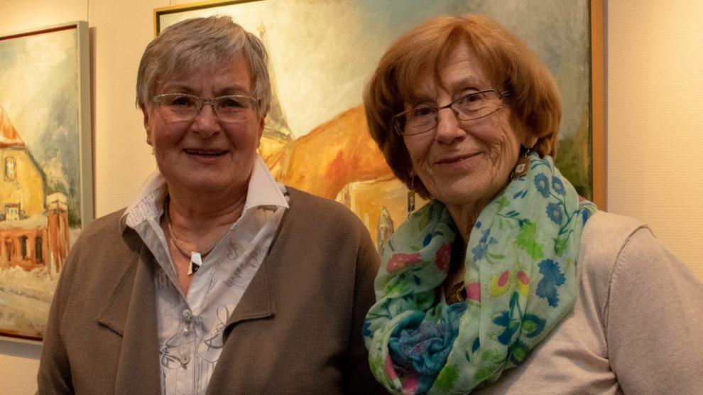 Marlen Beyer (rechts) und Gerlinde Schröder bilden den neuen Vorstand des Seniorenbeirats. Foto:André Thöle