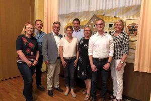 Der neu gewählte CDU Gemeindevorstand in Wallenhorst. Foto:Lukas Havliza