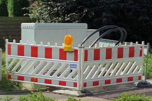 Breitbandausbau mit Multifunktionsgehäuse (MFG) und Glasfaserleerrohr. Foto: CDU Wallenhorst