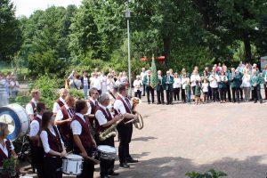 Am Wochenende findet das traditionelle Schützenfest in Rulle an der Wittekindhalle statt. Foto: Dirk Meyer
