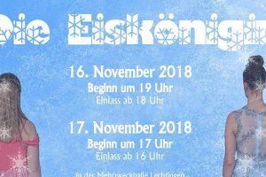 Die Eiskönigin wird im November wieder in Lechtingen als Musical aufgeführt- Hier zu sehen ist ein Plakatausschnitt. Foto:Sportfreunde Lechtingen