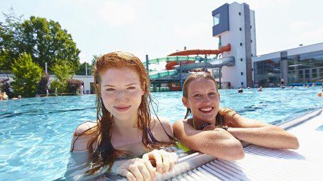 Ob Freizeit-, Sport- oder Freibad – eine Fahrt zum Nettebad lohnt sich zu jeder Jahreszeit. Foto: Stadtwerke Osnabrück