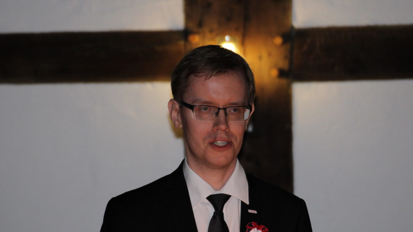 Der Polnische Vizekonsul Adam Borkowski. Foto: Dominik Lapp, kulturfeder.de