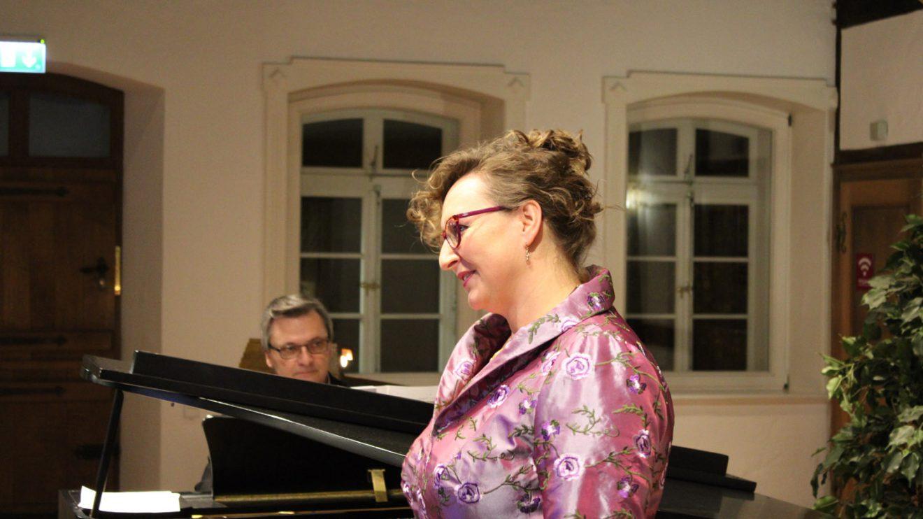 Die Sopranistin Dorota Dobrolinska-Struck. Foto: Dominik Lapp, kulturfeder.de