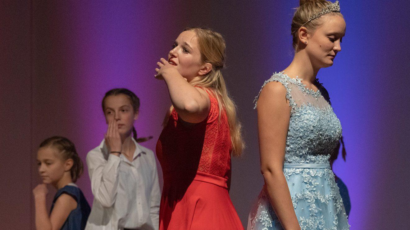 """Die Sportfreunde Lechtingen zeigen Ausschnitte aus ihrem Musical """"Frozen"""". Foto: Thomas Remme"""