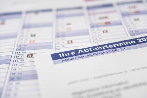 In die Abfuhrkalender 2019 für den Landkreis Osnabrück hat sich ein Fehlerteufel eingeschlichen. Foto: A.W. Sobott/AWIGO