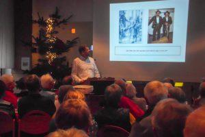 Stefan Düing sprach beim Hollager 60plus-Frühstück über Adolph Kolping und sein Werk. Foto: Ursula Thöle