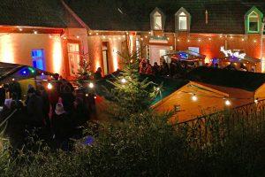 Das Ruller Haus lädt von Freitag bis Samstag, 20. und 21. Dezember, zum Weihnachtsmarkt ein. Foto: Burkhard Imeyer