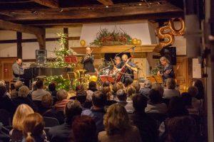 Zum 50. Mal in vorweihnachtlicher Atmosphäre in der Hofstelle Duling: Ombre di Luci. Foto: André Thöle