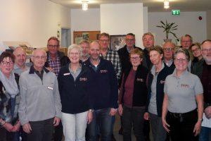 Die engagierten ehrenamtlichen Fahrerinnen und Fahrer des BürgerBus Wallenhorst-Wersen bei ihrem kürzlichen Treffen. Foto: BürgerBus Wallenhorst-Wersen
