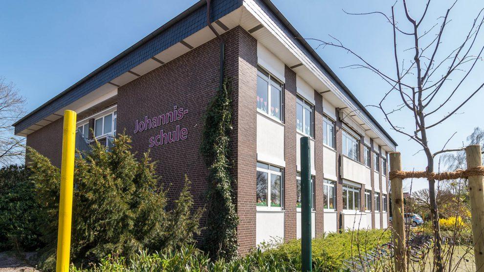 Die Anmeldungen für das Schuljahr 2020/2021 nehmen die Wallenhorster Grundschulen – hier die Johannisschule – am 24. und 25. April entgegen. Foto: Thomas Remme