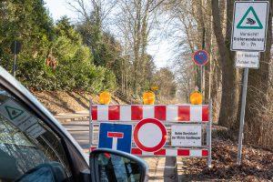 Zum Schutz von Amphibien werden einige Straßen in Wallenhorst gesperrt. Foto: Gemeinde Wallenhorst / Thomas Remme