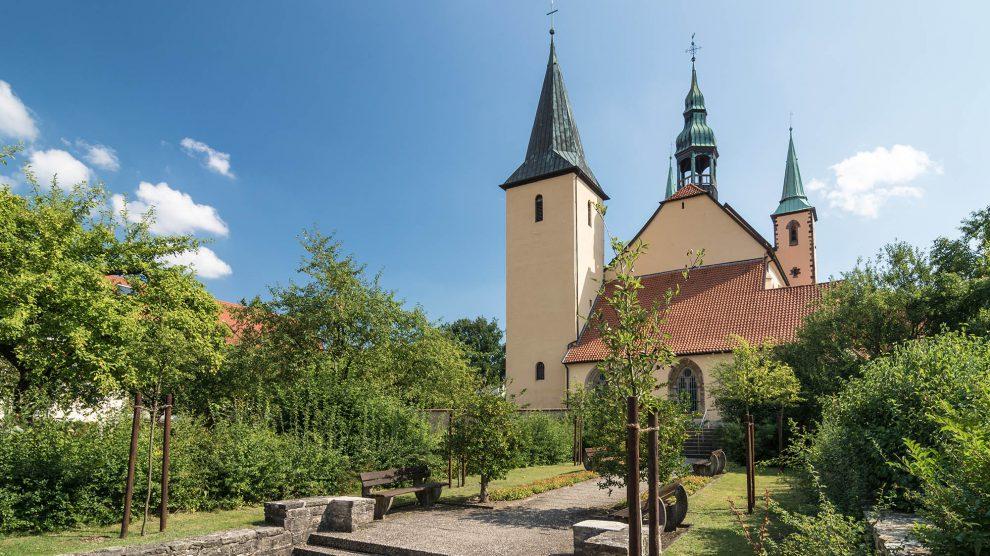 """Eine der """"himmlischen Bauten"""" auf der Kirchentour der VarusRegion: die Wallfahrtskirche in Rulle. Foto: Gemeinde Wallenhorst /Thomas Remme"""