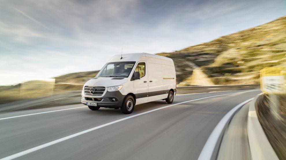 Ein weißer Mercedes-Benz Sprinter wurde in Lechtingen gestohlen. Die Polizei in Wallenhorst sucht Zeugen. Symbolfoto: Daimler AG