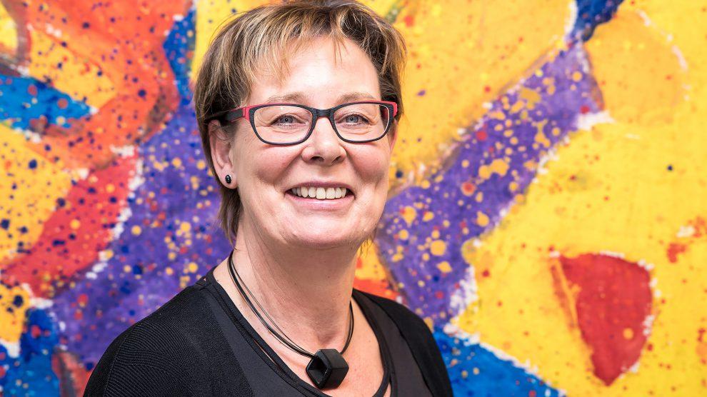 Kornelia Böert wirbt für das Mentoring-Programm des Landes Niedersachsen. Foto: Gemeinde Wallenhorst / Thomas Remme