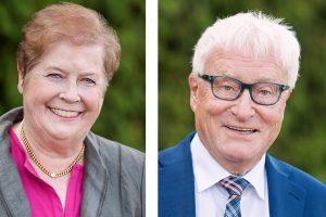 Marlies Robben und Alfred Lindner aus der CDU Fraktion. Fotos: CDU Gemeindeverband Wallenhorst