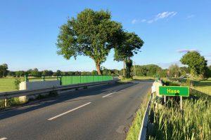 Planungen des Radwegs nach Halen werden vorgestellt. Foto: Volker Holtmeyer