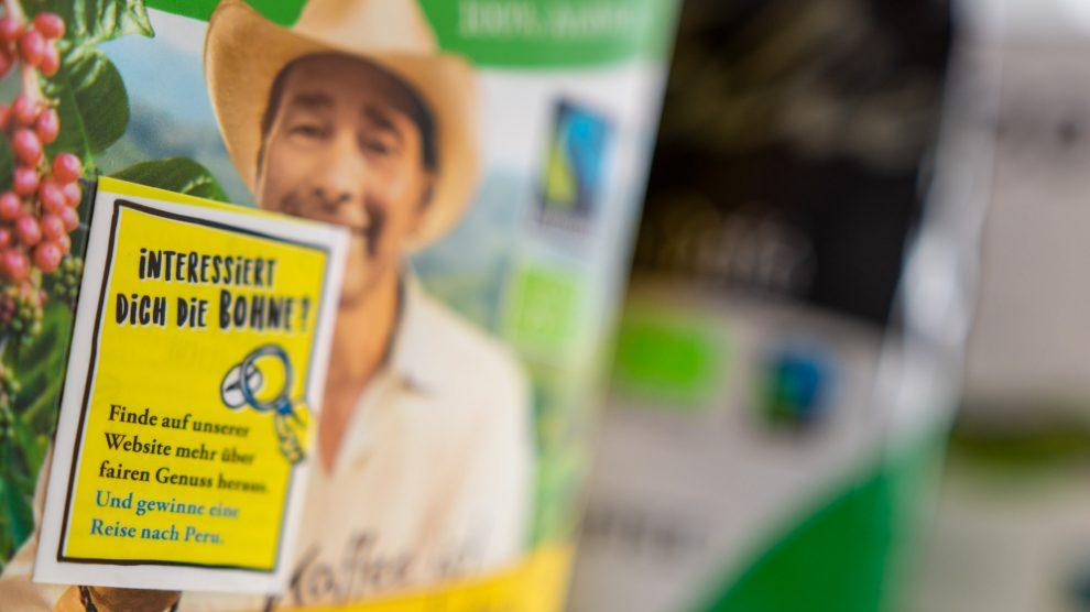 Das Interesse an der Bohne und anderen Produkten sowie ihren Produktions- und Handelsbedingungen möchte die Arbeitsgruppe Fairtrade in Wallenhorst wecken. Foto: André Thöle