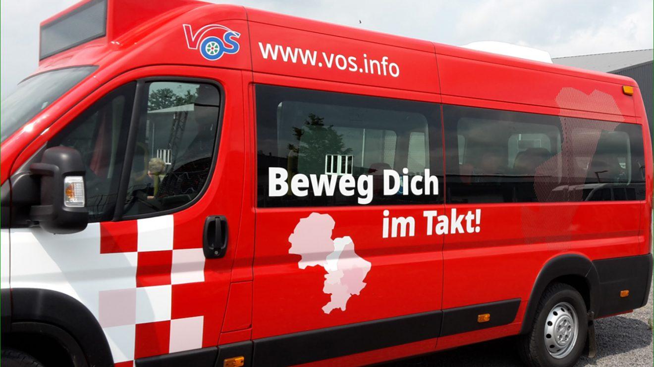 Der neue BürgerBus Wallenhorst-Wersen. Foto: D. Hoffmann