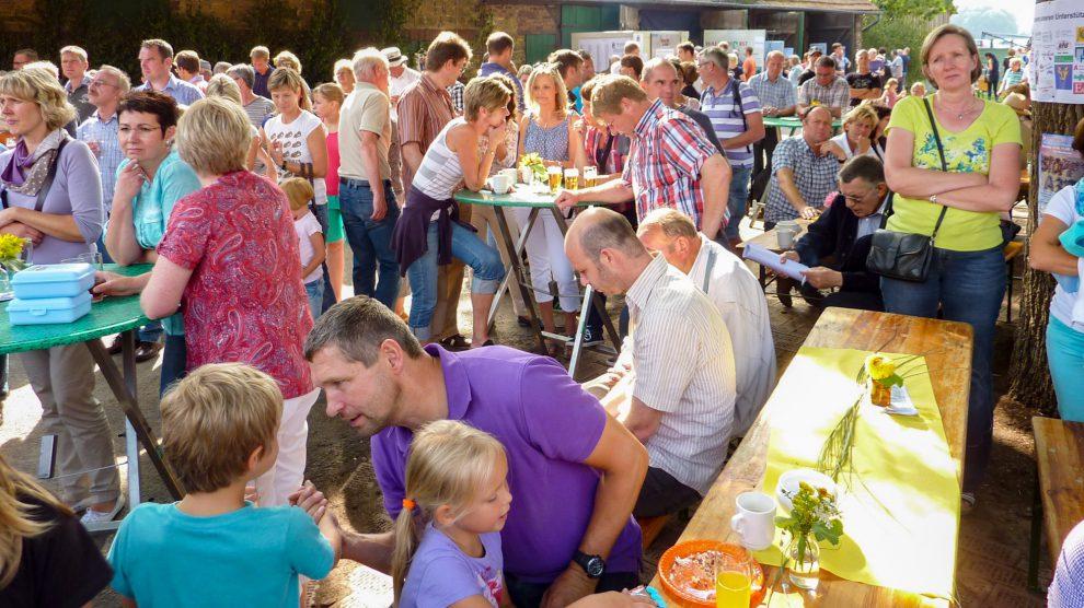Auf einen ebenso guten Zuspruch wie 2014 hoffen die Organisatoren des Hoffestes. Foto: Udo Stangier / Gemeinde Wallenhorst