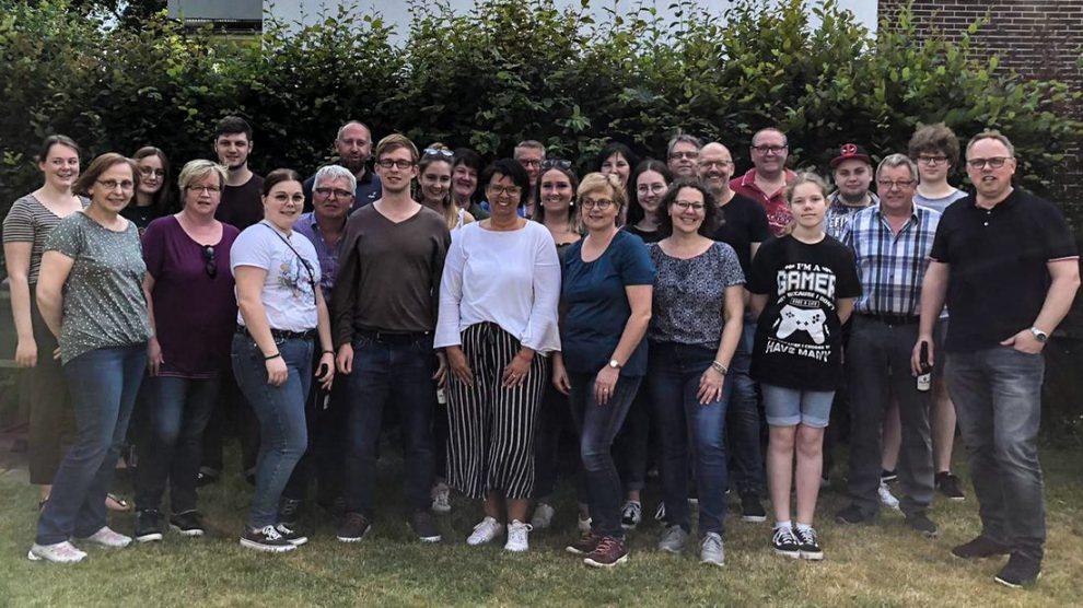 Gruppenbild zum 20-jähigen Jubiläum: Kolping-Familienkreis. Foto: Sarah Speer