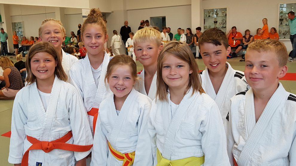 Die erfolgreichen Hollager Judoka der u12 in Osnabrück. Foto: Blau-Weiss Hollage