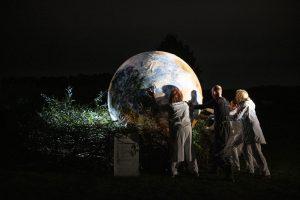 """Eindrücke vom Theaterfestival """"Rulle vorwärts"""". Foto: Angela von Brill"""