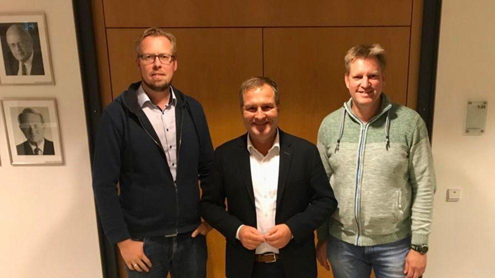 Markus Broxtermann, Guido Pott und Hauke Klein (v.l.n.r.). Foto: SPD Wallenhorst