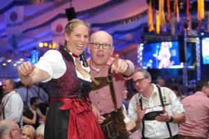 Ausgelassene Partystimmung auf dem Hollager Oktoberfest. Foto: Markus Böwer / Kolpingsfamilie Hollage