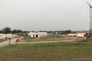 Was kann eine Kommune wie Wallenhorst tun, um zum Erreichen der Klimaschutzziele beizutragen? Dabei sollen auch Baugebietsentwicklungen und Gebäudebestand im Vordergrund stehen. Hier das Neubaugebiet Witthügel in Hollage-Ost (2017). Archivfoto: Rothermundt / Wallenhorster.de