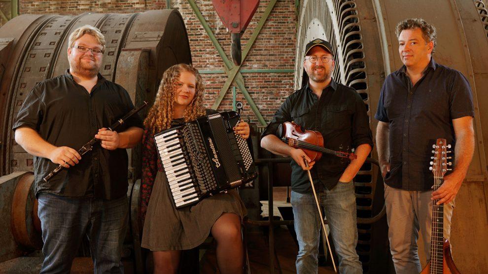 """Das Quartett """"Northern Lights"""" präsentiert irische und skandinavische Songs in mitreißenden Arrangements im Ruller Haus. Foto: Northern Lights"""