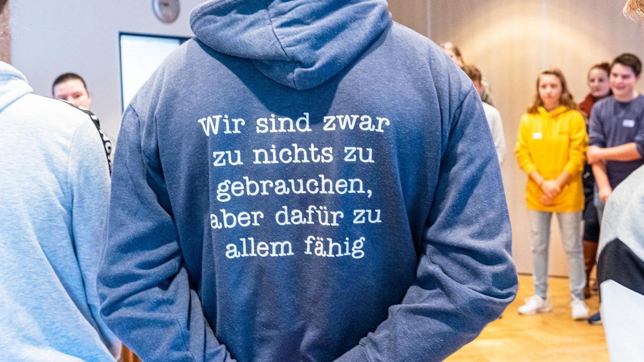 Diese Meinung sollte sich nach der Jugendkonferenz geändert haben. Foto: Gemeinde Wallenhorst / Ulla Kocks