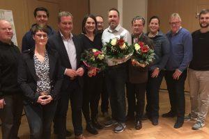 Der neu gewählte SPD-Ortsvereinsvorstand. Foto: SPD Wallenhorst