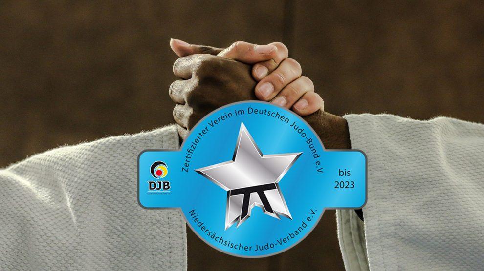 Auch für die kommenden vier Jahre wurde die Judoabteilung von Blau-Weiss Hollage vom Deutschen Judo Bund mit dem Vereinszertifikat ausgezeichnet. Fotomontage: Pixabay / Bizzari / DJB / Wallenhorster.de