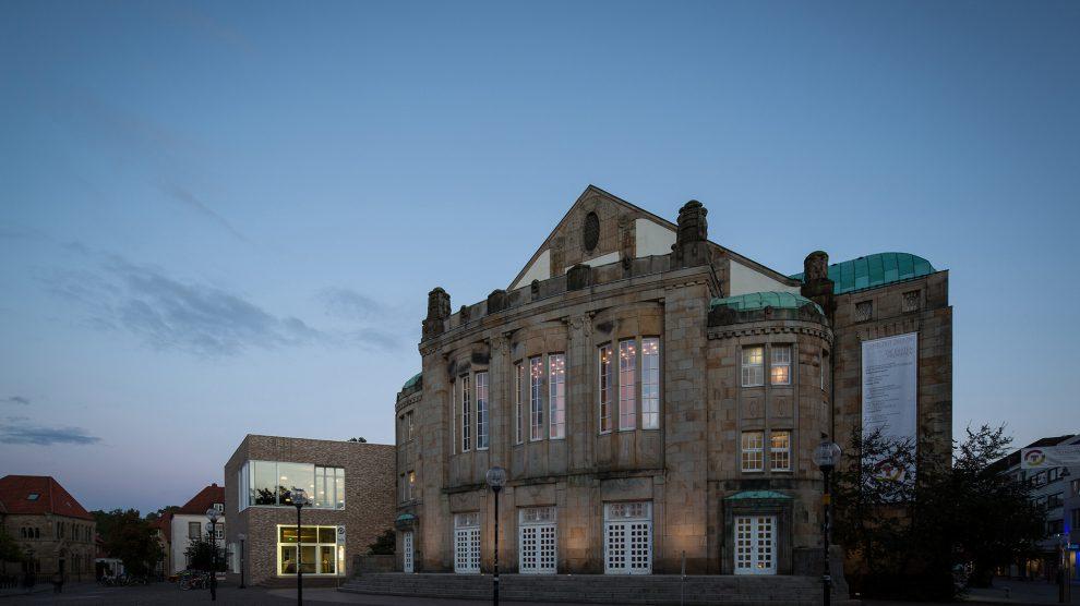 Theater am Domhof in Osnabrück. Foto: Marius Maasewerd