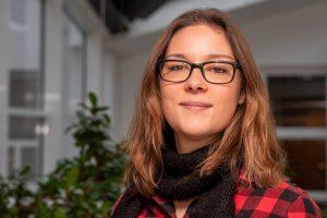 Möchte ihre Begeisterung für die Natur weitergeben: Isabella Draber, Umweltbeauftragte der Gemeinde Wallenhorst. Foto: Gemeinde Wallenhorst / Thomas Remme
