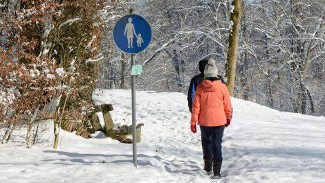 Eine Winterwanderung für die ganze Familie bietet die Kolpingsfamilie Hollage an. Symbolfoto: Pixabay / Antranias