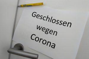 Viele Türen sind zu, sie sollen es nicht bleiben. Foto: FDP Wallenhorst