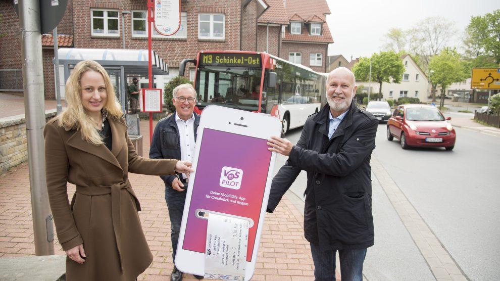 Das HandyTicket ist jetzt auch im Landkreis Osnabrück erhältlich. Foto: Stadtwerke Osnabrück