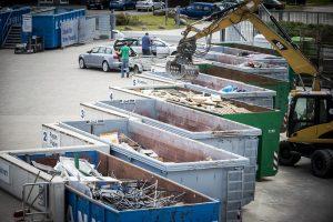 Die AWIGO Recyclinghöfe öffnen ab Donnerstag, 16. April 2020, wieder unter bestimmten Bedingungen auch für Privatkunden. Foto: AWIGO