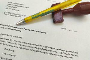 Die Freien Demokraten stellen ein Antragsmuster bereit. Foto: FDP Wallenhorst