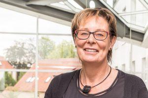 """""""Häusliche Gewalt geht uns alle an – eine aufmerksame Nachbarschaft ist die beste Prävention"""", sagt Kornelia Böert. Foto: Thomas Remme / Gemeinde Wallenhorst"""