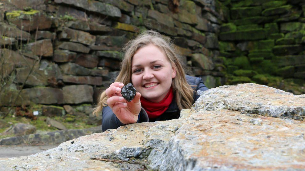 Antonia Hagedorn ist die aktuelle Bundesfreiwilligendienstlerin im Natur- und Geopark TERRA.vita. Foto: TERRA.vita/Melanie Schnieders