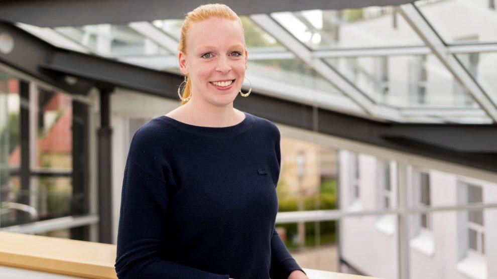 Mona Berstermann steht als Regionalmanagerin der Region unterstützend zur Seite. Foto: André Thöle / Gemeinde Wallenhorst
