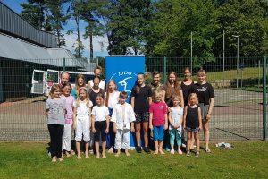 Eindrücke aus der Ferien-Betreuung 2020 der Hollager Judoabteilung. Foto: Blau-Weiss Hollage