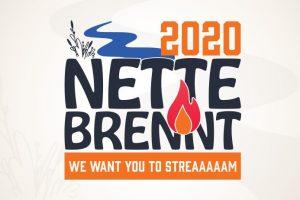 """Das """"Nette brennt"""" 2020 Logo. Bild: Veranstalter"""