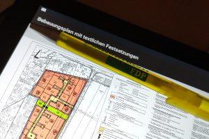 Obacht bei der Prüfung von Bebauungsplänen Foto: FDP Wallenhorst